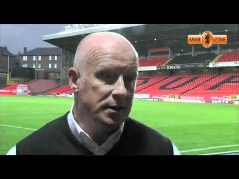 Peter Houston post match interview 22/10/11