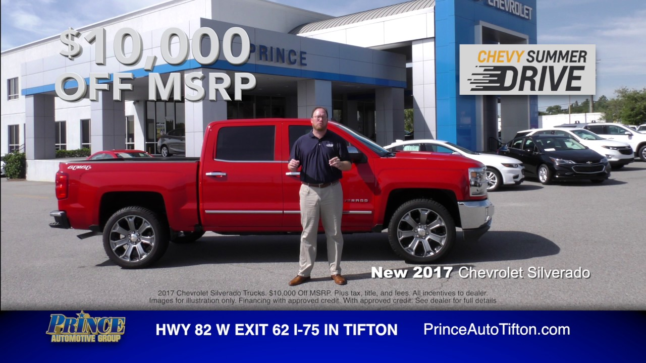 Up To $10,000 Off MSRP On A New 2017 Chevy! | Prince Chevrolet | (229)  382 2525 | PrinceAuto.com. Prince Chevy Tifton
