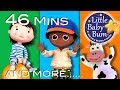 Jumping And Dancing Songs Plus Lots More Nursery Rhymes 46 Mins Compilation from LittleBabyBum