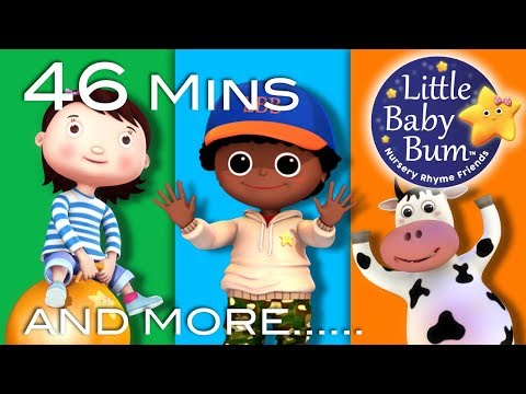 Jumping And Dancing Songs | Plus Lots More Nursery Rhymes | 46 Mins Compilation from LittleBabyBum!