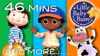 Learn with Little Baby Bum | Jumping and Dancing | Nursery Rhymes for Babies | Songs for Kids