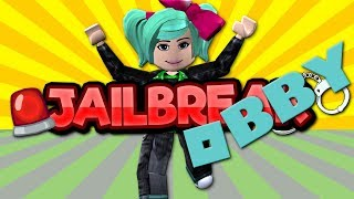 RAGE QUIT! Roblox Jailbreak Escape Obby SallyGreenGamer Geegee92 Family Friendly