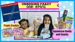 UNBOXING POPIN COOKIN, JAPANESSE CANDY AND SNACK ♥ LUCU ♥ Paket dari Jepang !!!   Samurai Buyer