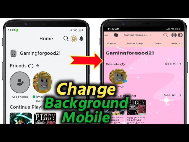 How To Change Your Roblox Background On Mobile Youtube