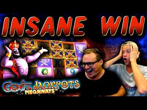 SICKEST BONUS EVER On Genie Jackpots Megaways!