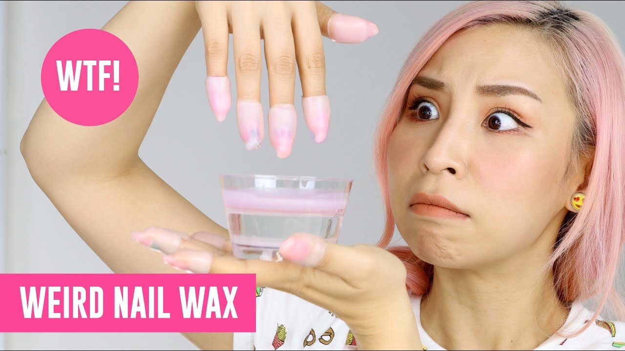 Weird Nail Wax – TINA TRIES IT