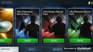 Star Trek Fleet Command - Romulan Factions Crew - Who works