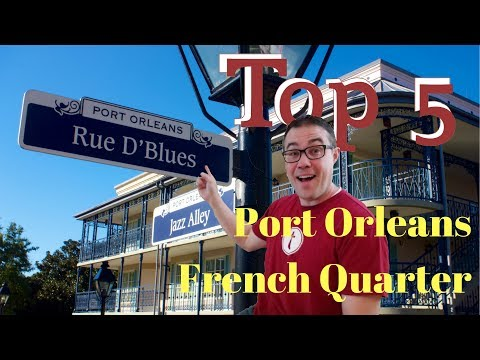 Top 5 Reasons We Love Port Orleans French Quarter