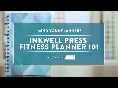 inkWELL Press Fitness Planner 101
