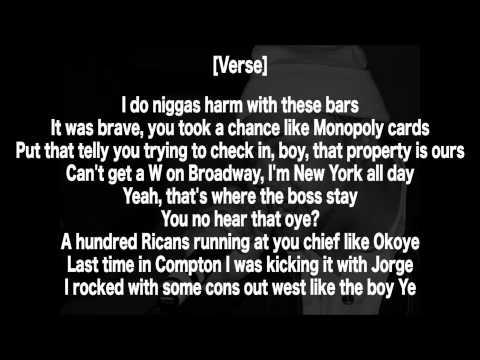 Joell Ortiz - Outta Control (Lyrics HD) (Kendrick Lamar Response)