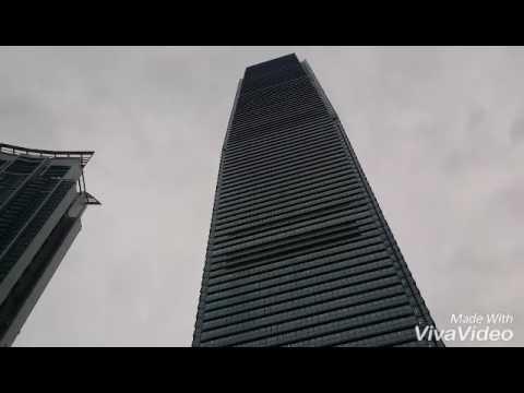 Самый высокий небоскреб Гонконга!IFC Hong Kong!