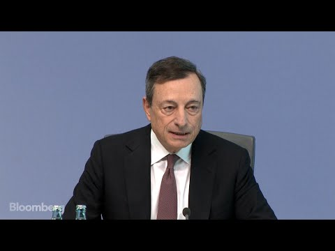 Draghi's Opening Statement at ECB News Conference