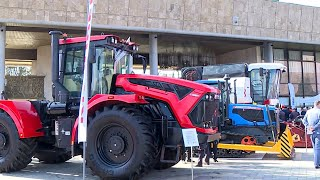 В Душанбе открылась выставка российской сельхозтехники
