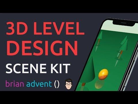 iOS Swift 4 Game Tutorial: Create 3D Levels with SceneKit Editor 🕹