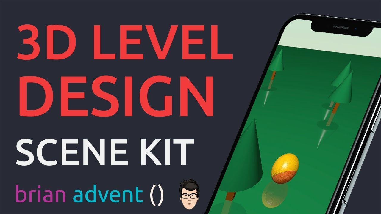 iOS Swift 4 Game Tutorial: Create 3D Levels with SceneKit Editor 🕹