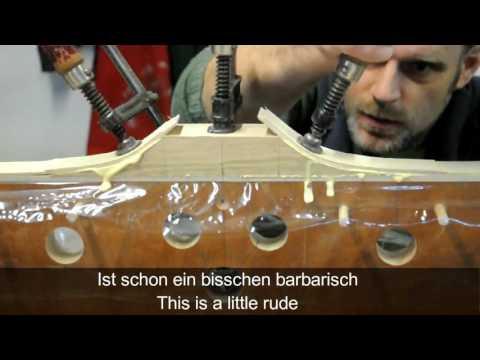 Bogen Bau Kinderbogen aus Esche  Kids bow  build from ash