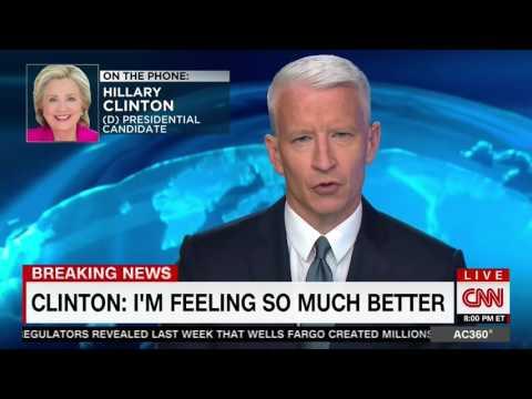 """Clinton Admits She Has Fainted """"A Few Times"""" Can"""