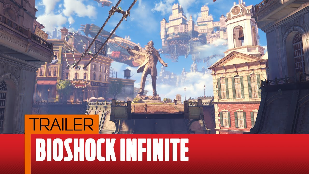 PC Gamer - Bioshock Infinite announcement trailer