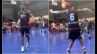 NLE Choppa BET Awards Celebrity Basketball Game Highlights