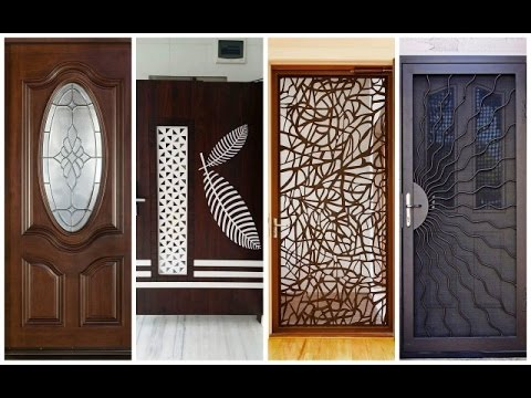 Delicieux Top 42 Modern Front Door Designs Catalogue 2018  Plan N Design