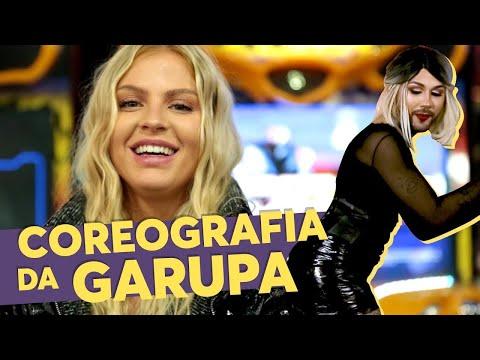 """LUISA SONZA e SAMIRA CLOSE fazem coreografia de """"GARUPA"""" 😱🍑🏍 Música Multishow"""
