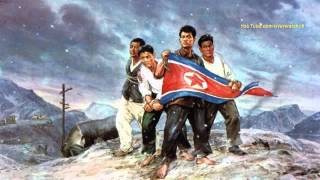 North Korean Song: We Will Fly Our Red Flag Forever