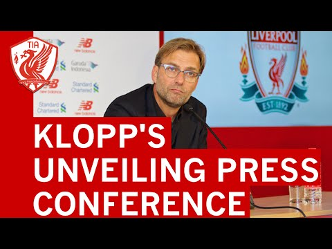 JURGEN KLOPP'S LIVERPOOL FC UNVEILING PRESS CONFERENCE (IN FULL)