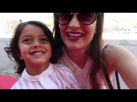 vlog viaje a Barcelona + viajamos en tren diferentes + evento Land Rover + Ari se pone malita