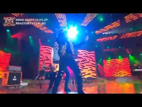 The X Factor Australia - Live Show 6 - Altiyan Childs: Eye Of The Tiger
