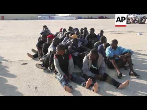 Coast Guards arrest 220 African migrants