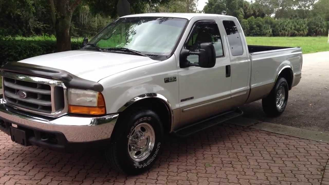 2000 ford f250 7 3l turbo diesel view our current inventory at fortmyerswa com youtube [ 1280 x 720 Pixel ]