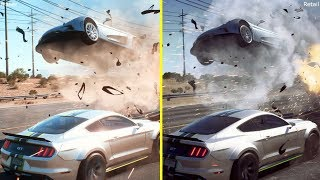 Need For Speed Payback Gameplay Reveal Trailer vs Retail Xbox One S Graphics Comparison