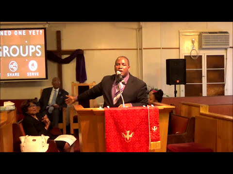 Rev. Dr. Sean C. Evans ~ Where Do We Go From Here
