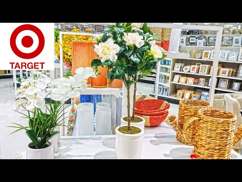NEW TARGET HOME DECOR SPRING DECORATIONS SHOP WITH ME STORE WALK THROUGH