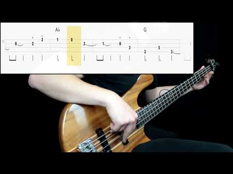 Sonic The Hedgehog - Green Hill Zone (Bass Cover) (Play Along Tabs In Video)