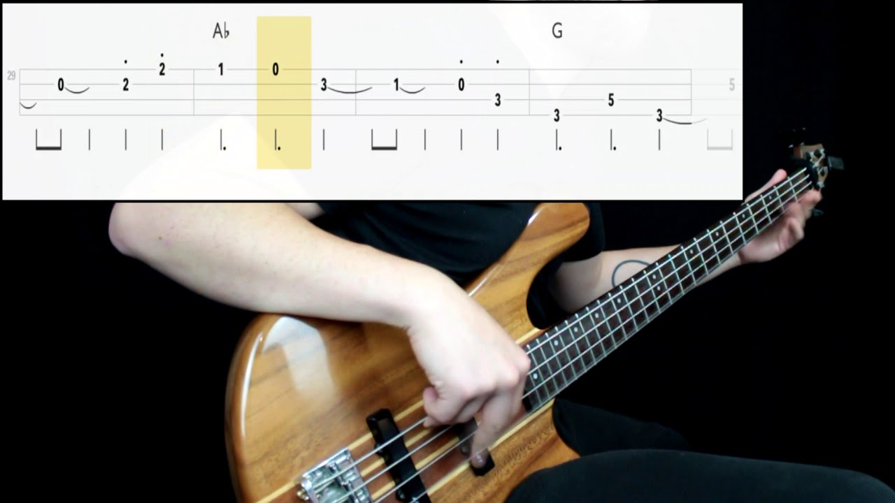Sonic The Hedgehog Green Hill Zone Bass Cover Play Along Tabs In Video Youtube