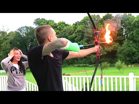 Thumbnail: CRAZY FLAMING ARROWS!!