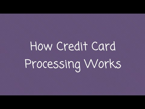 Credit Card Merchant Services Dallas: How Credit Card Processing Works: