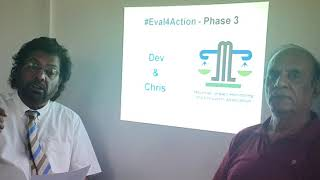 Mauritian Impact Monitoring and Evaluators Association at #Eval4Action Commitment Drive