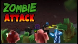 roblox(zumbie attack)LUKAS GAME 😀😀😀
