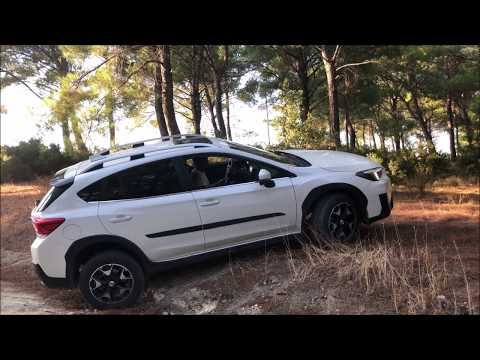 SUBARU XV CROSSTREK OFF ROAD HILL CLIMBING, MUD, DIAGONAL