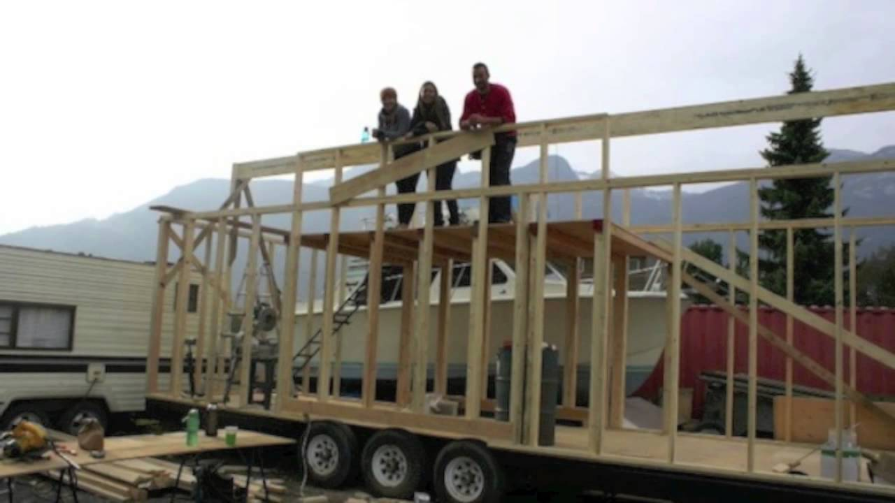 32 long tiny house on a trailer project big enough for you youtube - Largest Tiny House