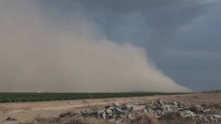 Dust storm Hits Maricopa, Phoenix metro outlying areas. thumbnail