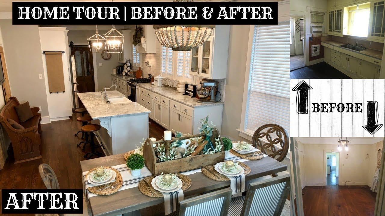 fixer upper update complete home tour youtube. Black Bedroom Furniture Sets. Home Design Ideas