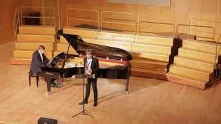 Zheludkov. Two Melodies for saxophone and piano  Part I In Autumn
