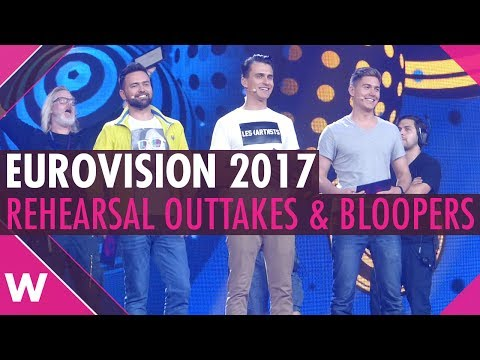 Eurovision 2017: Rehearsal outtakes, bloopers, behind the scenes | wiwibloggs