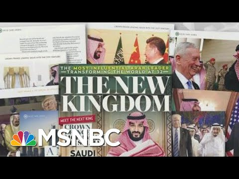 Jeff Bezos Suggests National Enquirer Nervous About Saudi Arabia Ties | Rachel Maddow | MSNBC