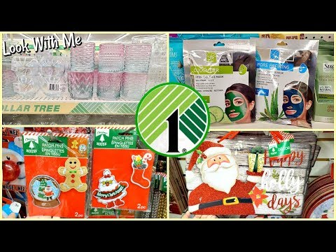 COME WITH ME DOLLAR TREE SHOPPING * NEW  CHRISTMAS ITEMS 2019