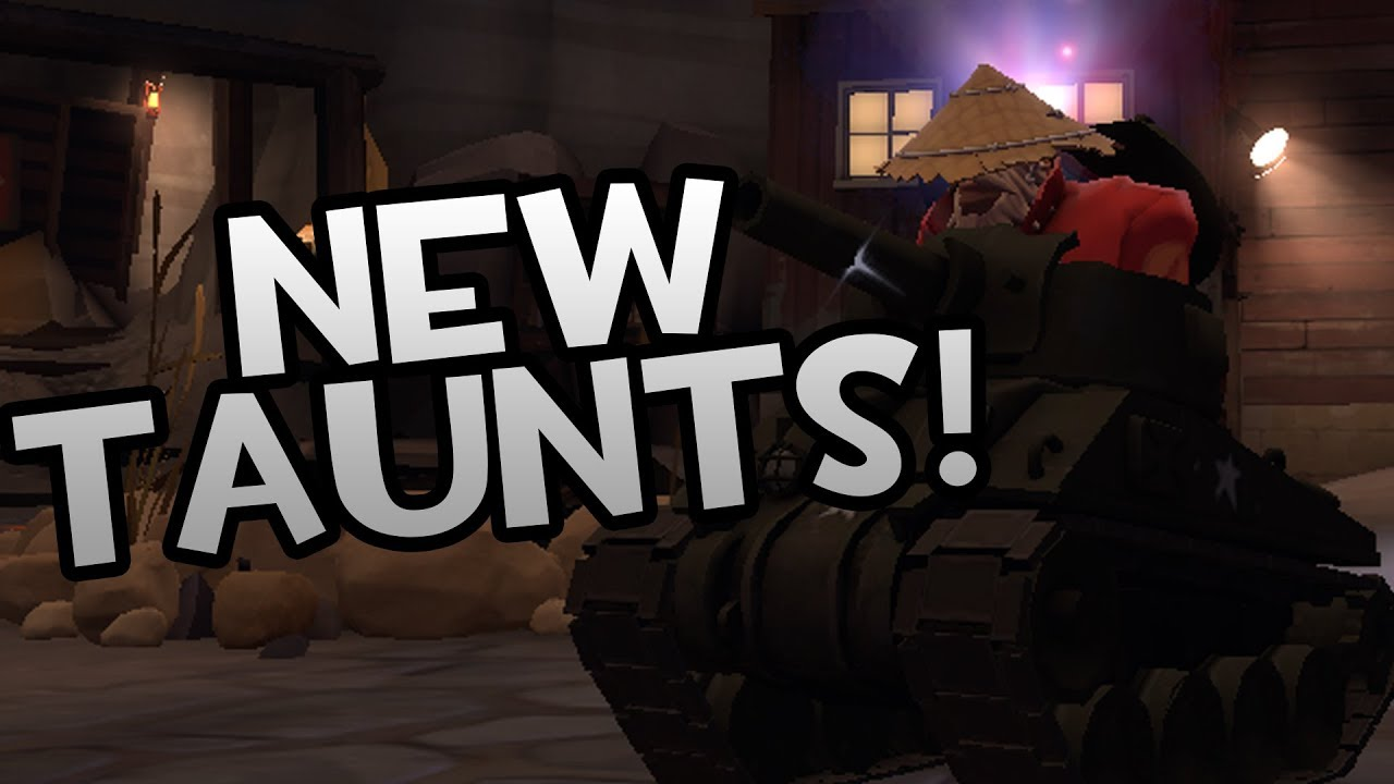 SCREAM FORTRESS 2018 IS HERE! NEW TAUNT SHOWCASE! [TF2]