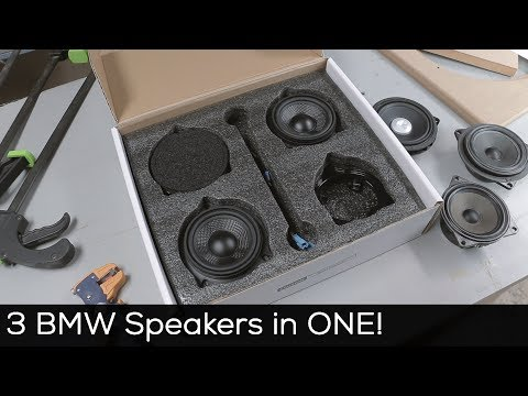 Universal BMW Speaker Replacement Kits Now Available!